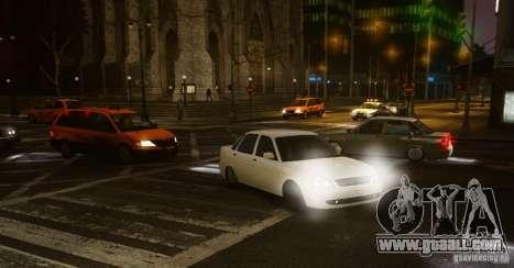 Lada Priora Dag Style for GTA 4 back left view