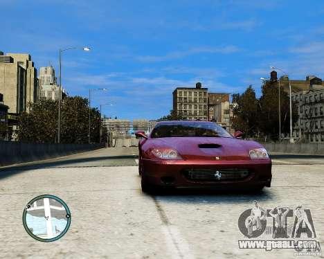 Ferrari 575M Maranello 2002 for GTA 4 back left view