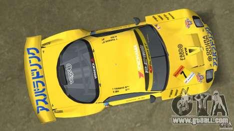 Mazda Re-Amemiya RX7 FD3S Super GT for GTA Vice City back view