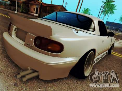 Mazda MX-5 Miata Rocket Bunny for GTA San Andreas left view