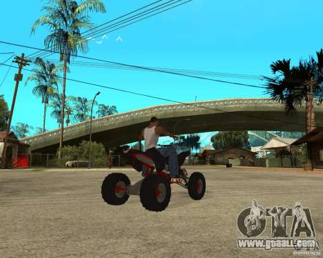 Yamaha YFZ450 for GTA San Andreas right view