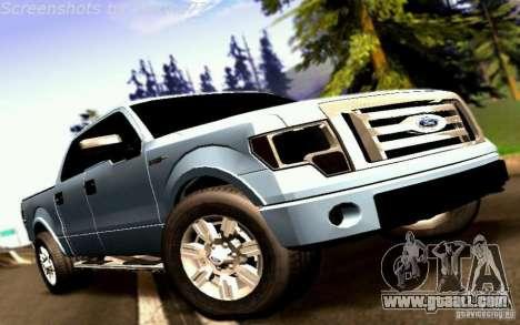 Ford Lobo 2012 for GTA San Andreas