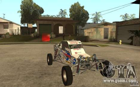CORR Super Buggy 2 (Hawley) for GTA San Andreas back view