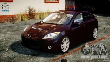 Mazda Speed 3 for GTA 4