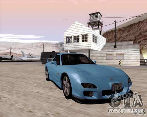 Mazda RX7 2002 FD3S SPIRIT-R (Type RS) for GTA San Andreas back view