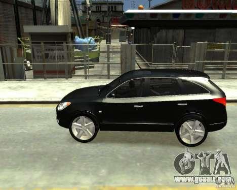 Hyundai IX55 for GTA 4 back left view