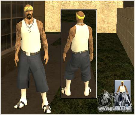 Skin Pack Getto for GTA San Andreas forth screenshot