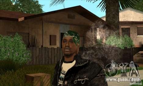 grove skin 1 ranks for GTA San Andreas third screenshot