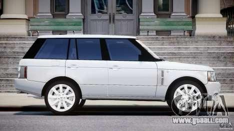 Range Rover Supercharged 2009 v2.0 for GTA 4 inner view