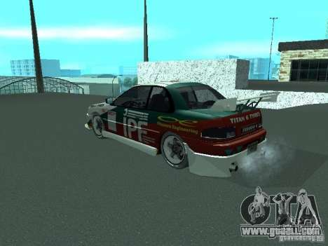Subaru Impreza for GTA San Andreas engine