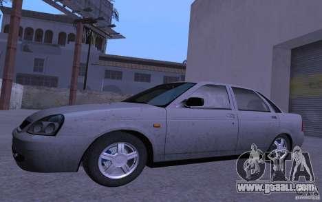 LADA 2170 Priora Pnevmo for GTA San Andreas left view