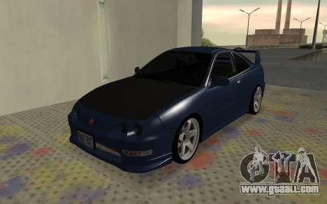 Acura Integra Type R 2000 for GTA San Andreas