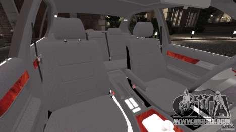 BMW E34 V8 540i for GTA 4 inner view