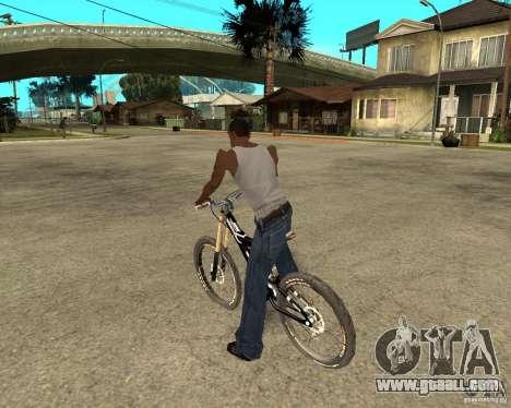 Diamondback strike Beta for GTA San Andreas left view