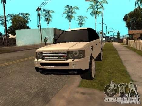 Range Rover Sport for GTA San Andreas