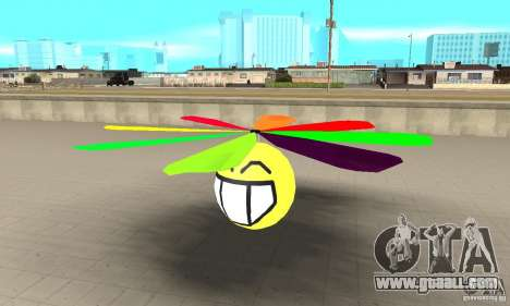 Smiley in heaven for GTA San Andreas