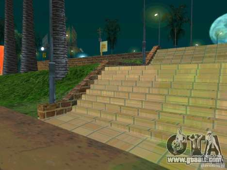 New basketball court for GTA San Andreas third screenshot