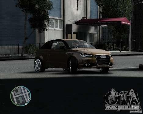 Audi A1 v.2.0 for GTA 4