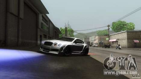 Bentley Continental GT Premier4509 2008 Final for GTA San Andreas inner view