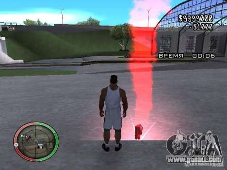 Dynamite MOD for GTA San Andreas second screenshot
