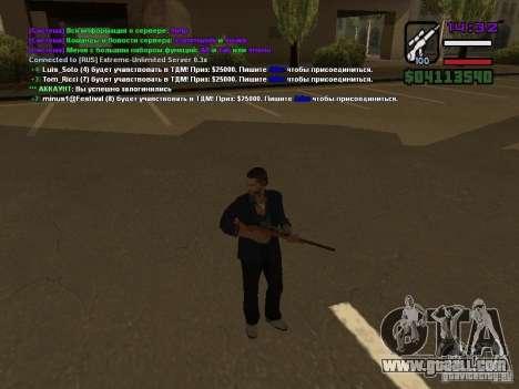 SA-MP 0.3x Client for GTA San Andreas forth screenshot