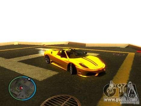 Ferrari F430 Scuderia M16 2008 for GTA San Andreas wheels