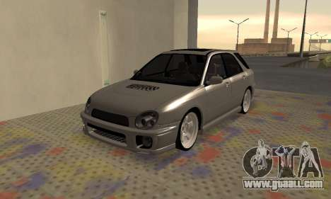 Subaru Impreza WRX Wagon for GTA San Andreas