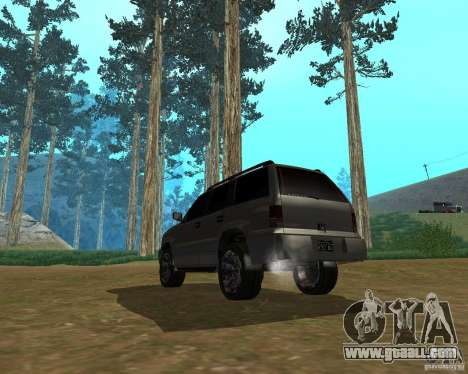 Cavalcade of GTA 4 for GTA San Andreas left view