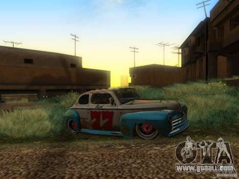 Ford Coupe 1946 Mild Custom for GTA San Andreas right view