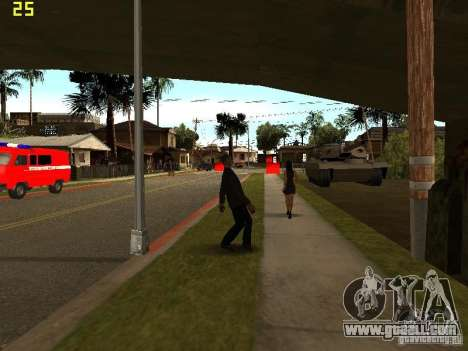 Drunk People Mod for GTA San Andreas third screenshot