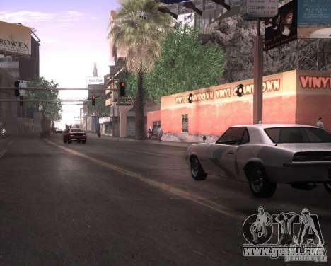 ENBSeries for Ultra Pack Vegetetions for GTA San Andreas third screenshot