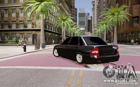 Lada Priora Dag Style for GTA 4 left view