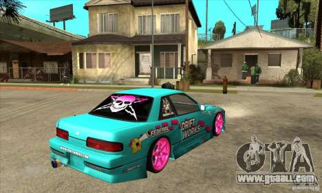 Nissan Silvia S13 Drift Works for GTA San Andreas right view