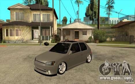 Peugeot 106 Reptile for GTA San Andreas