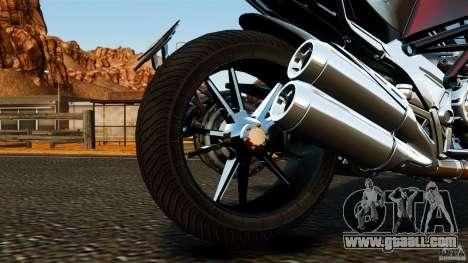 Ducati Diavel Carbon 2011 for GTA 4 inner view
