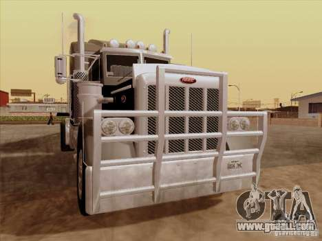 Peterbilt 378 Custom for GTA San Andreas left view