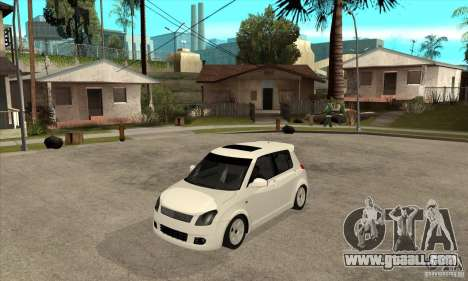 Suzuki Swift 4x4 CebeL Modifiye for GTA San Andreas