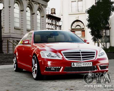 Mercedes-Benz S65 AMG 2010 Final for GTA 4 side view