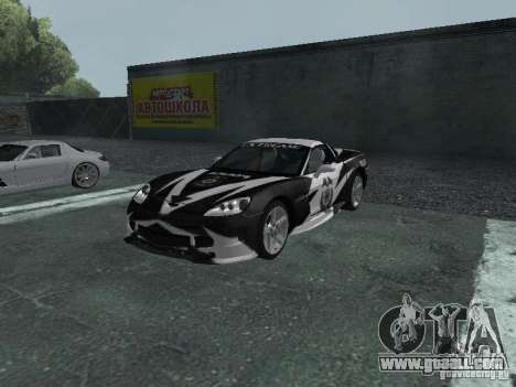Chevrolet Corvette C6 for GTA San Andreas wheels
