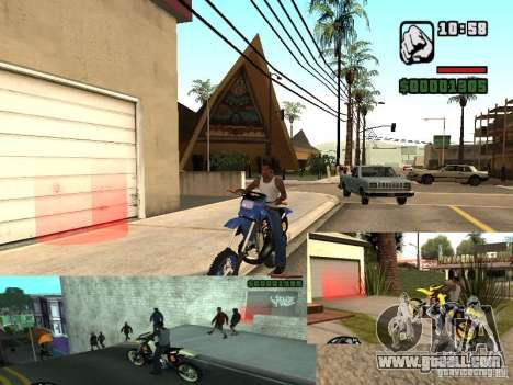 The CLEO script: Mototûning and Freestyle Motocr for GTA San Andreas