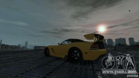 Dodge Viper SRT-10 ACR 2009 for GTA 4 right view