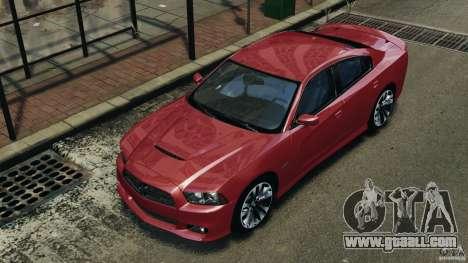 Dodge Charger SRT8 2012 v2.0 for GTA 4 wheels