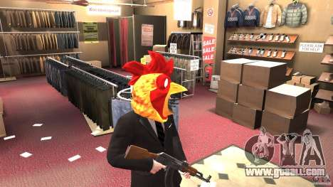 CluckingBell Hat for GTA 4 second screenshot