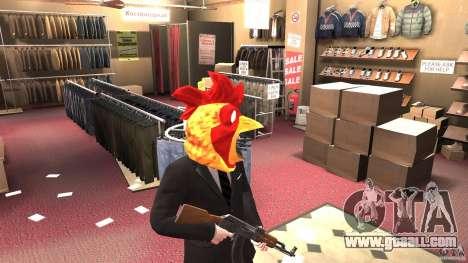 CluckingBell Hat for GTA 4 second screenshot