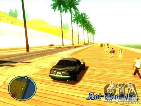 Mazda Miata 1994 for GTA San Andreas right view