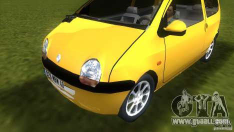 Renault Twingo for GTA Vice City back left view