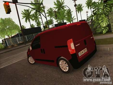 Peugeot Bipper for GTA San Andreas left view
