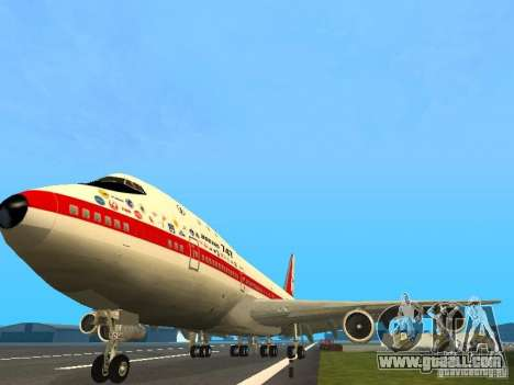 Boeing 747-100 for GTA San Andreas