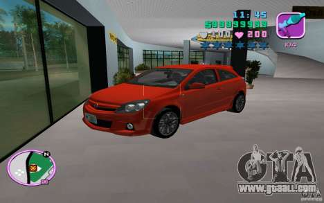 Opel Astra OPC 2006 for GTA Vice City back view