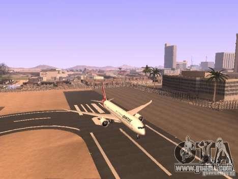 Boeing 787 Dreamliner Qantas for GTA San Andreas left view